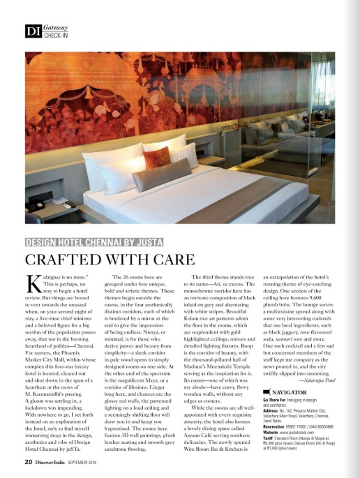 design-hotel-chennai-by-justa-featured-in-discover-india-september-2018