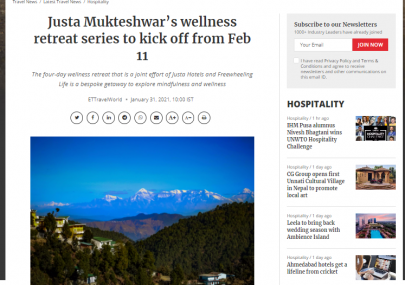 justa-mukteshwar-wellness-retreat-series-to-kick-off-from-february-11-travel-world-from-the-economic-times