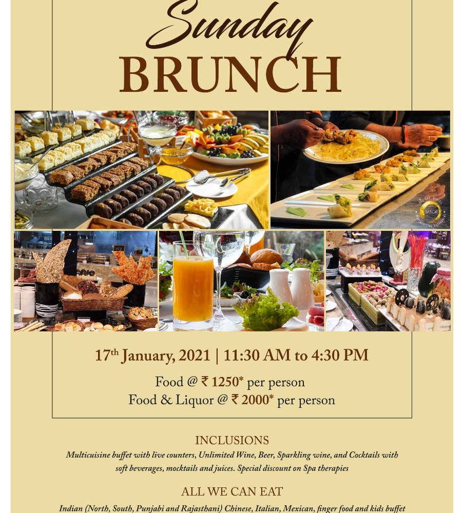 Sunday Brunch 17012021